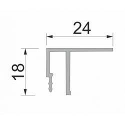 ALU Профиль HP-F